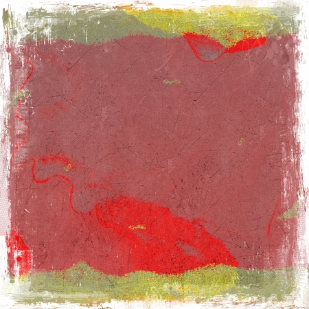 Grunge red abstract background photo