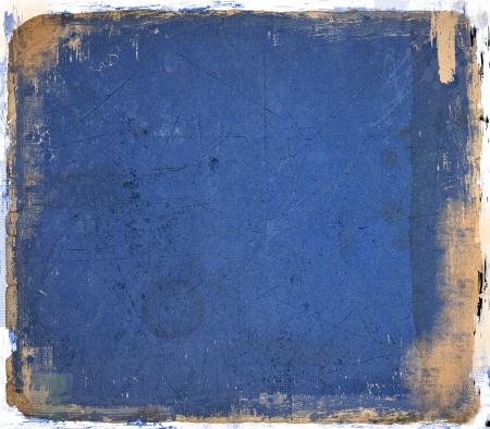 Grunge sfondo blu astratto Archivio Fotografico