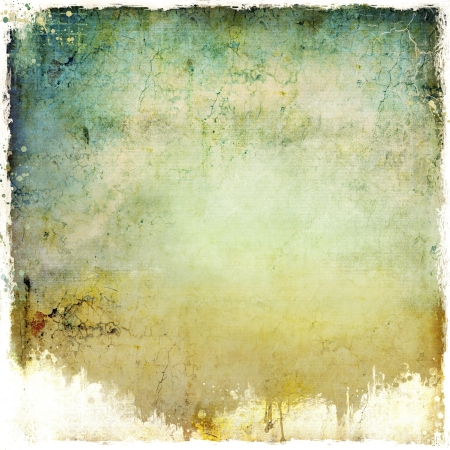 grunge border: Grunge dripping abstract background