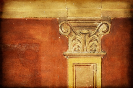 Ancient fresco detail. Useful for texture or background