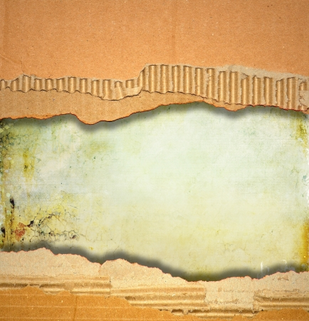 Ripped cardboard texture or background Stock Photo - 16251872