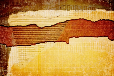 Ripped cardboard texture or background Stock Photo - 16251869