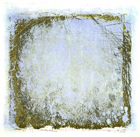 Grunge blue abstract texture or background Stock Photo