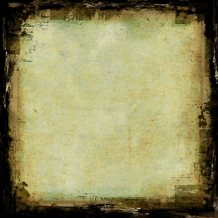 Grunge abstract texture or background with borders