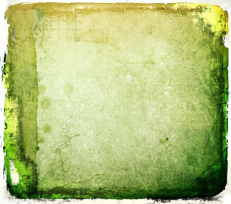 grunge background: Grunge green abstract texture or background Stock Photo