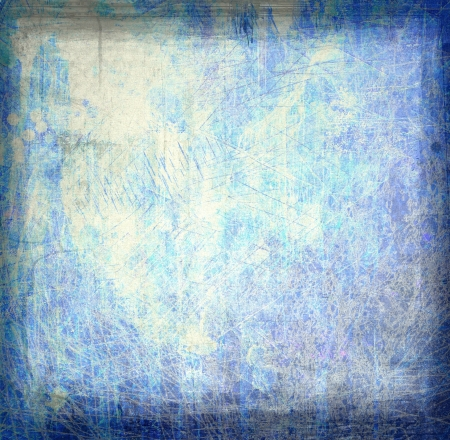 Grunge blue abstract background or texture photo