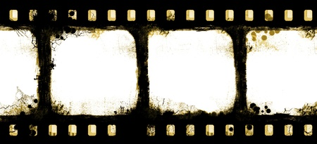 Grunge striscia di pellicola telaio Archivio Fotografico - 17074615