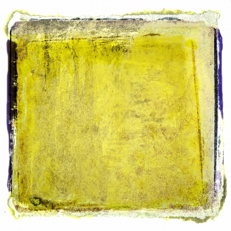 Grunge yellow abstract background Stock Photo