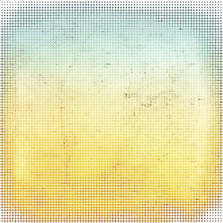 Dotted halftone pattern background