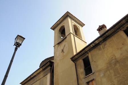 built tower: Ancient church at the beginning of 600