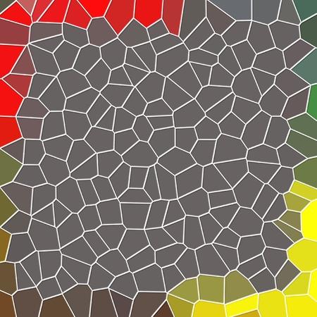 Abstract pattern geometrico