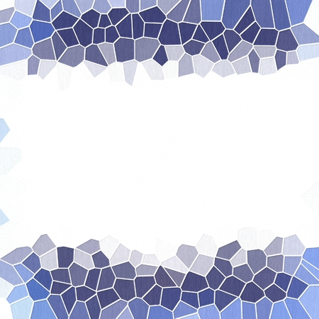 Astratta cornice geometrica