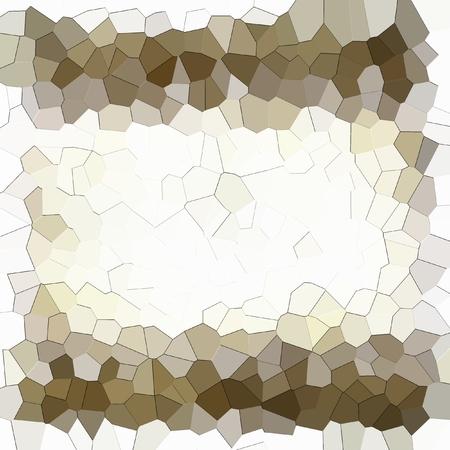 Struttura geometrica astratta. Bianco, seppia e marrone. Archivio Fotografico