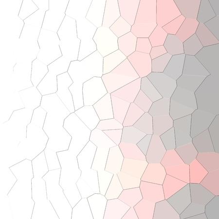 Priorità bassa geometrica rosa e grigia astratta del reticolo