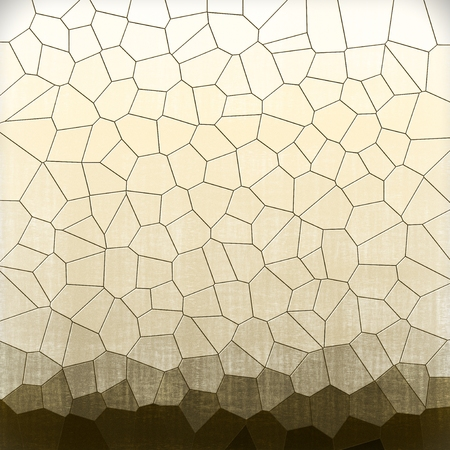 Abstract sepia geometric pattern background Archivio Fotografico