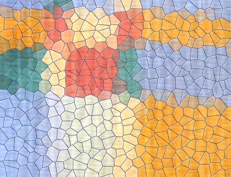 Astratto sfondo colorato geometrico
