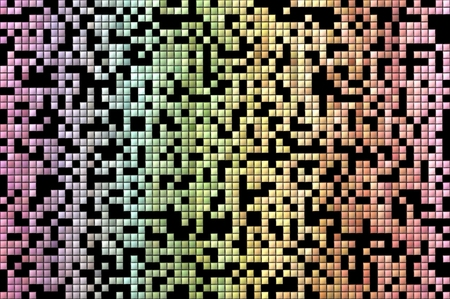 Abstract colorful geometric pattern background. Red, pink, yellow and green.