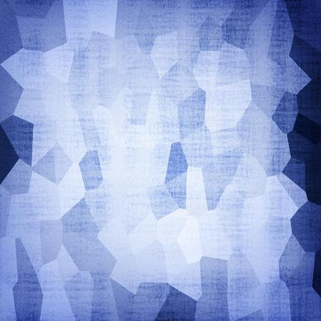 Astratto sfondo geometrico blu geometrico Archivio Fotografico