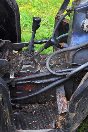 Vintage Tractor Seat Stock Photos And Images - 123RF