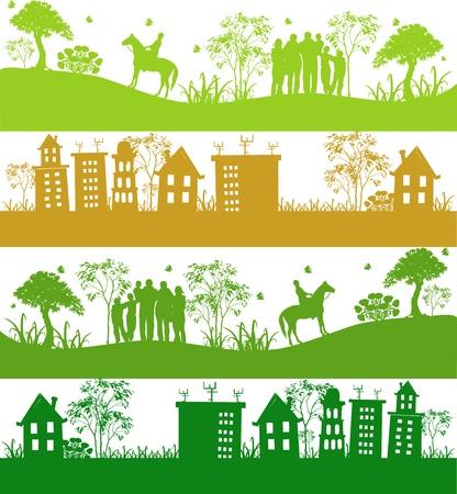 Green ecological planet Stock Vector - 13270186