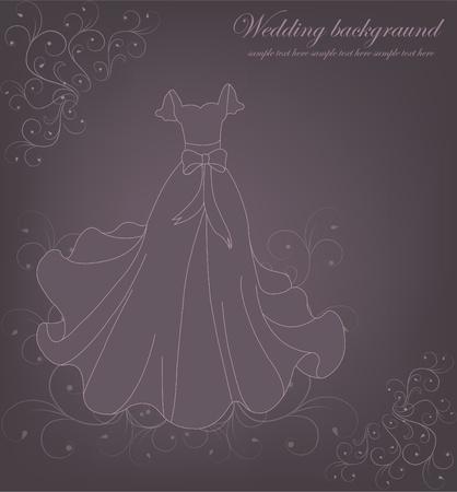 wedding reception: A beautiful wedding background