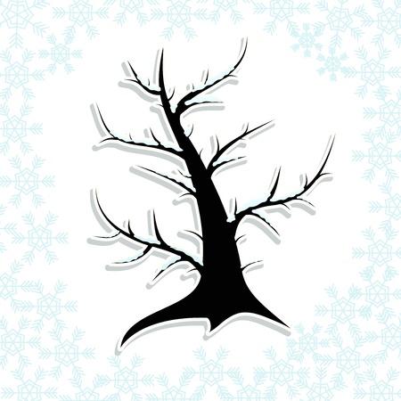 winter tree Stock Vector - 14781344