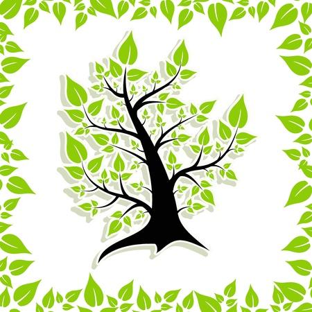 summer tree Stock Vector - 14781329