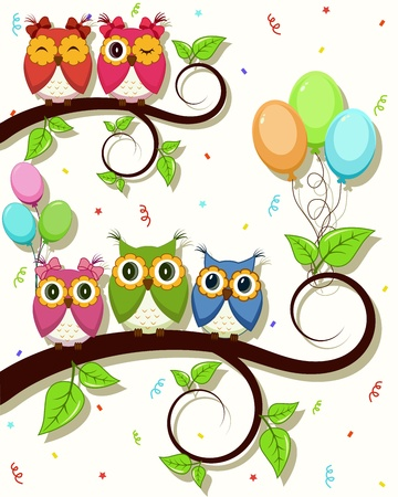Beautiful vector card with Happy Birthday Stock Vector - 14781339