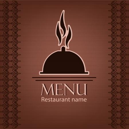 Exemple de menu pour un restaurant Belle Banque d'images - 14975342