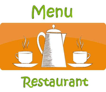 Sample menu for restaurant and cafe Stock Vector - 17403883