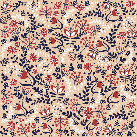 Sample floral background