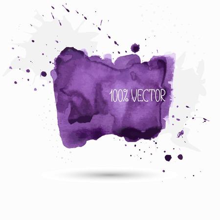 violet background: violet background of watercolor paint