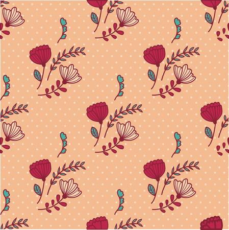 Vector pattern: nền hoa mẫu