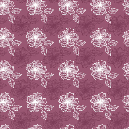 lowers: Seamless pattern with flowers