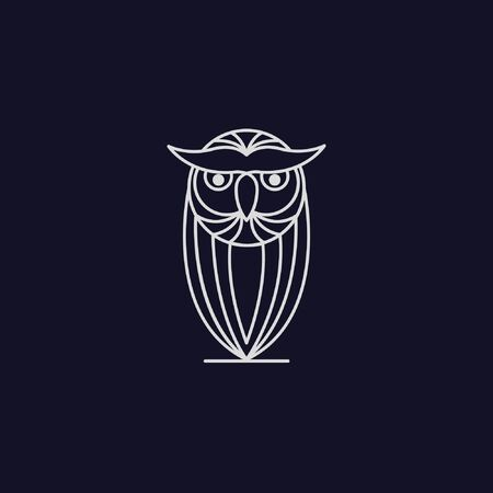 This is a Owl monogram, elegant, simple. and very good for companies, businesses, and others. Çizim