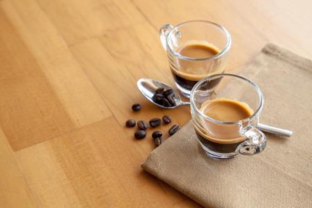 acidity: Two shots of espresso