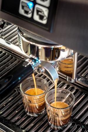 acidity: Coffee Espresso shots