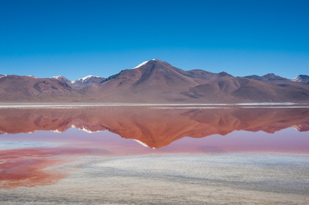 Laguna Kara on the altiplano of Southwest Bolivia, within Eduardo Avaroa Andean Fauna National Reserve and close to the border with Chile  photo