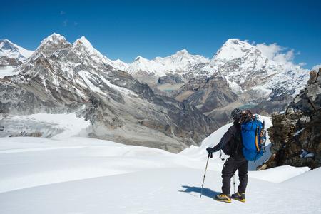 Mera のピーク高キャンプからヒマラヤ山脈