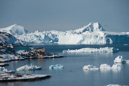 icefjord: Ilulissat Icefjord, UNESCO World Heritage Site of Greenland