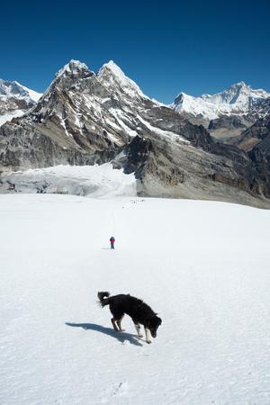 Trekking to Mera peak high camp