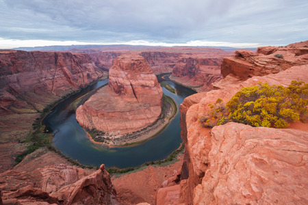 Horseshoe Bend in Page, Arizona, USA