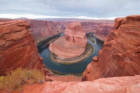 bends: Horseshoe Bend in Page, Arizona, USA