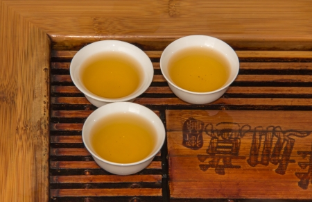 Chinese tea is the part of our traditional culture