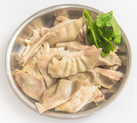 pork tripe-- a traditional food in South China