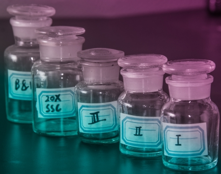 reagent: preliminary experiment--ampulla for reagent