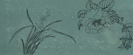 folkways: Classical Chinese painting--flower