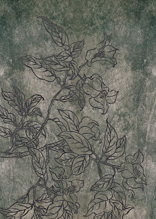 Classical Chinese painting--flower