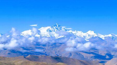 The highest peak of the world, Mount Everest
