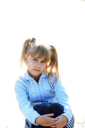 Portrait of a pretty girl Stock Photo - 16249437